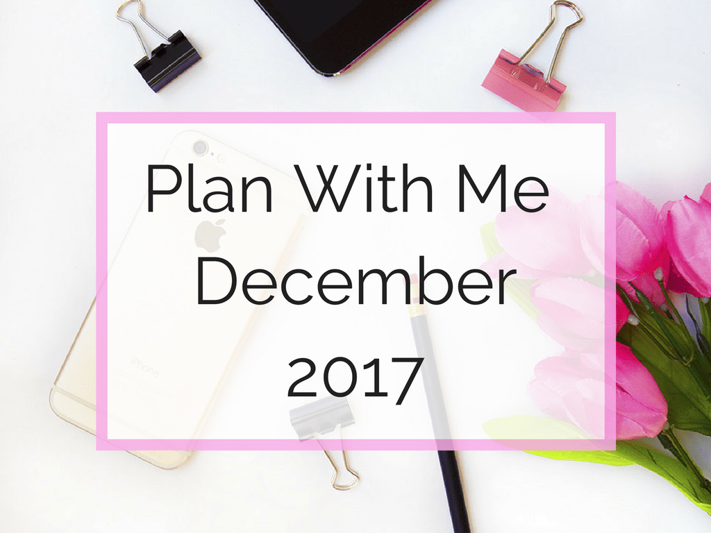 December Plan with Me - Blog Pic