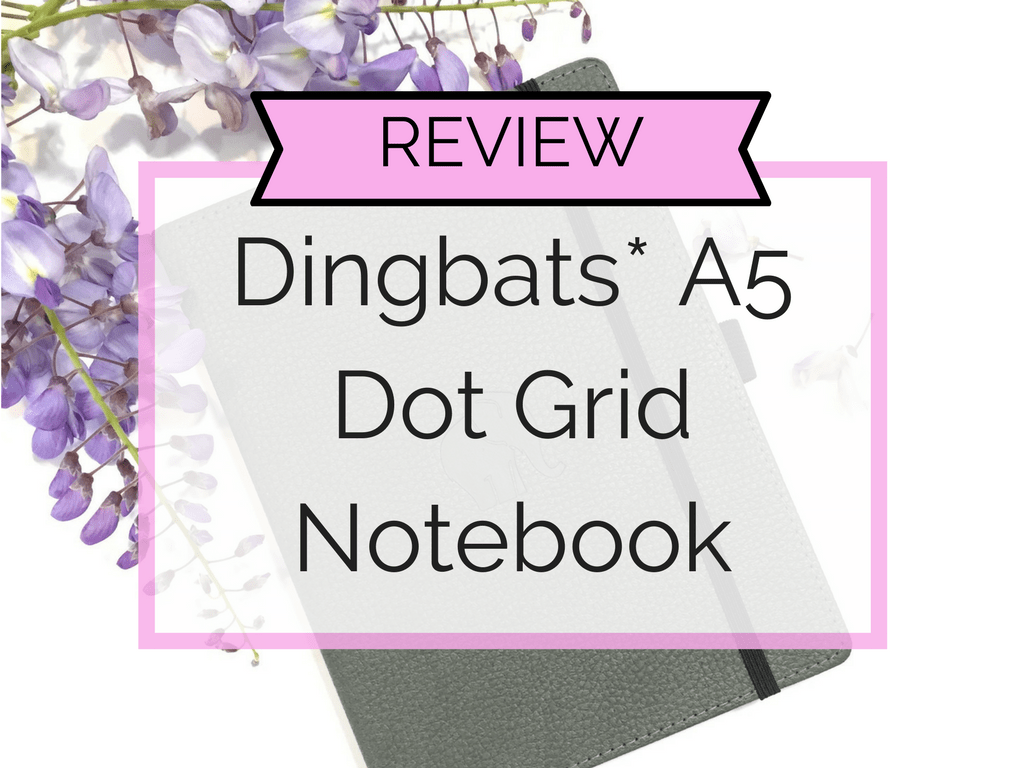 Dingbats Review - Blog Pic - Rose K Journals