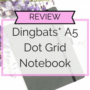 Dingbats* A5 Dot Grid Notebook Review