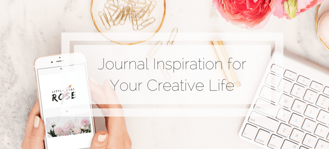 Bullet Journal Inspiration for Your Creative Life www.littlemissrose.com