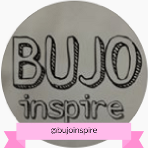 @bujoinspire Instagram account - www.littlemissrose.com