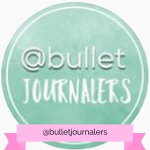 @bulletjournalers Instagram account - www.littlemissrose.com
