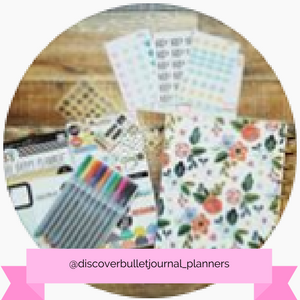 @discoverbulletjournal_planners Instagram account - www.littlemissrose.com
