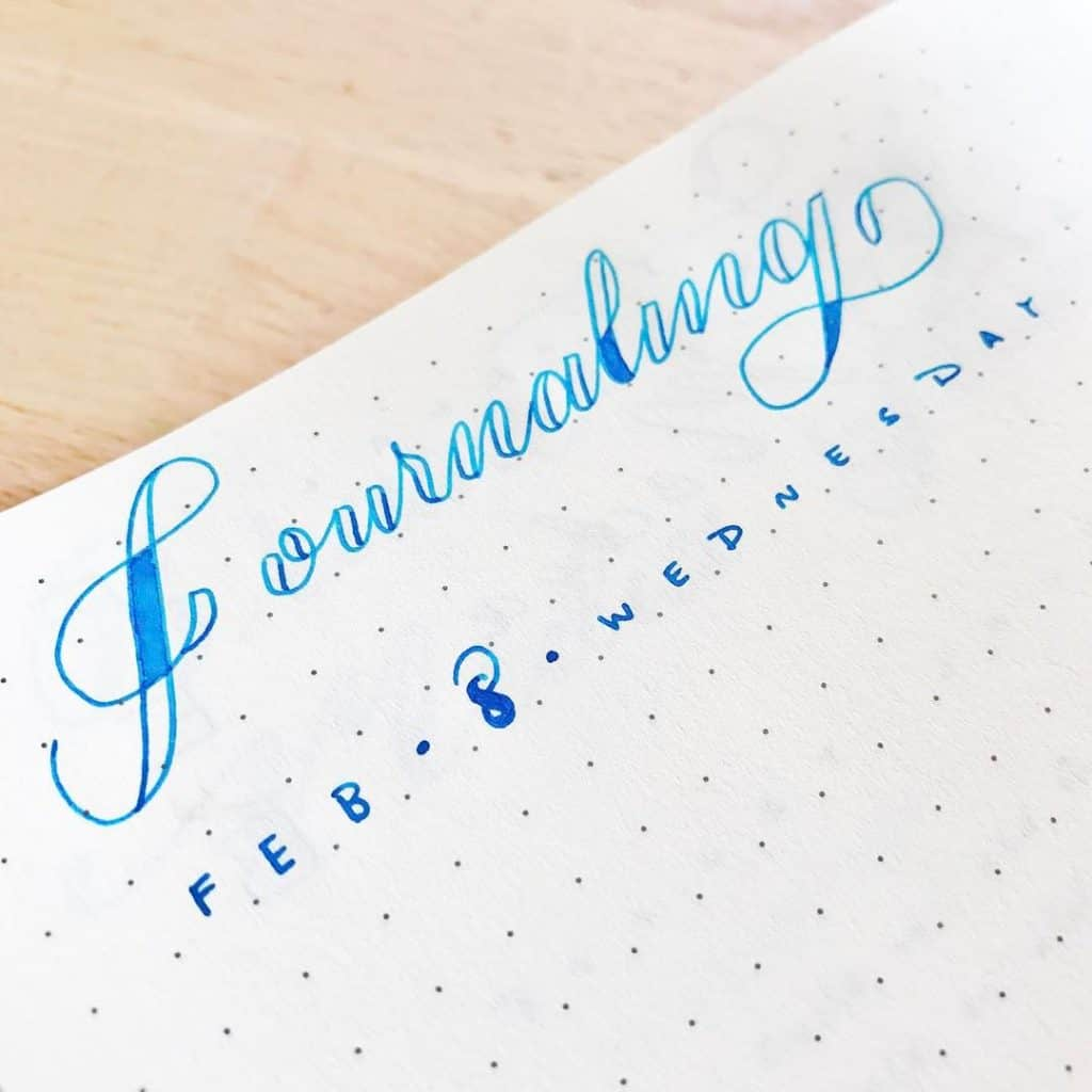 @tinyrayofsunshine Journaling in your Bullet Journal