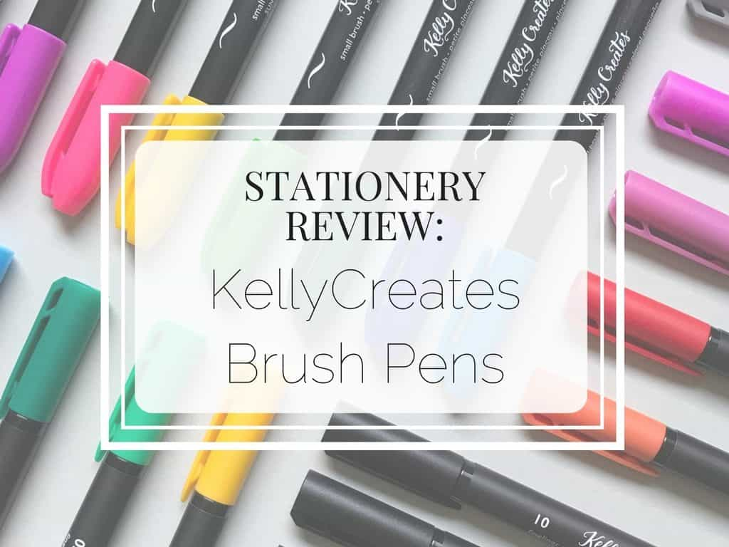 A review of the new brush pens released by Kellycreates. Find out is these brush pens are worth your money!