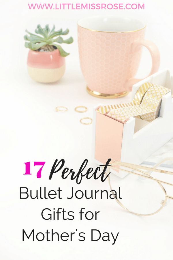 Need to find a perfect gift for Mother's Day, then tray one of these 17 Bullet Journal Supplies