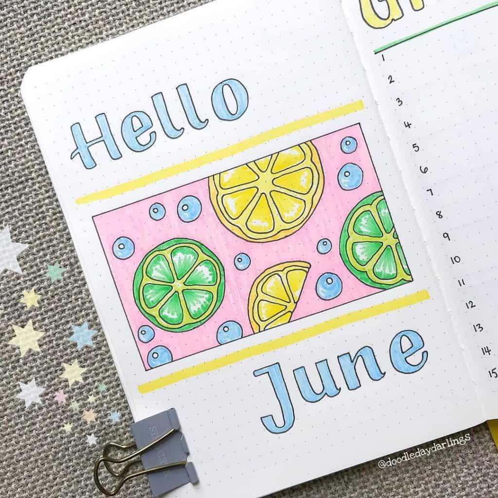 21 Fantastic Summer Ideas For Your Bullet Journal Little Miss Rose
