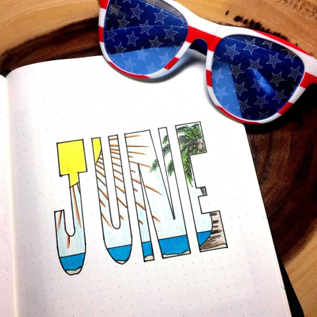 Need some inspiration for summer pages in your bullet journal? Check out this amazing article to provide you with everything you need for your summer bujo #bujo #bulletjournal #summerbulletjournal #bujoinspirations