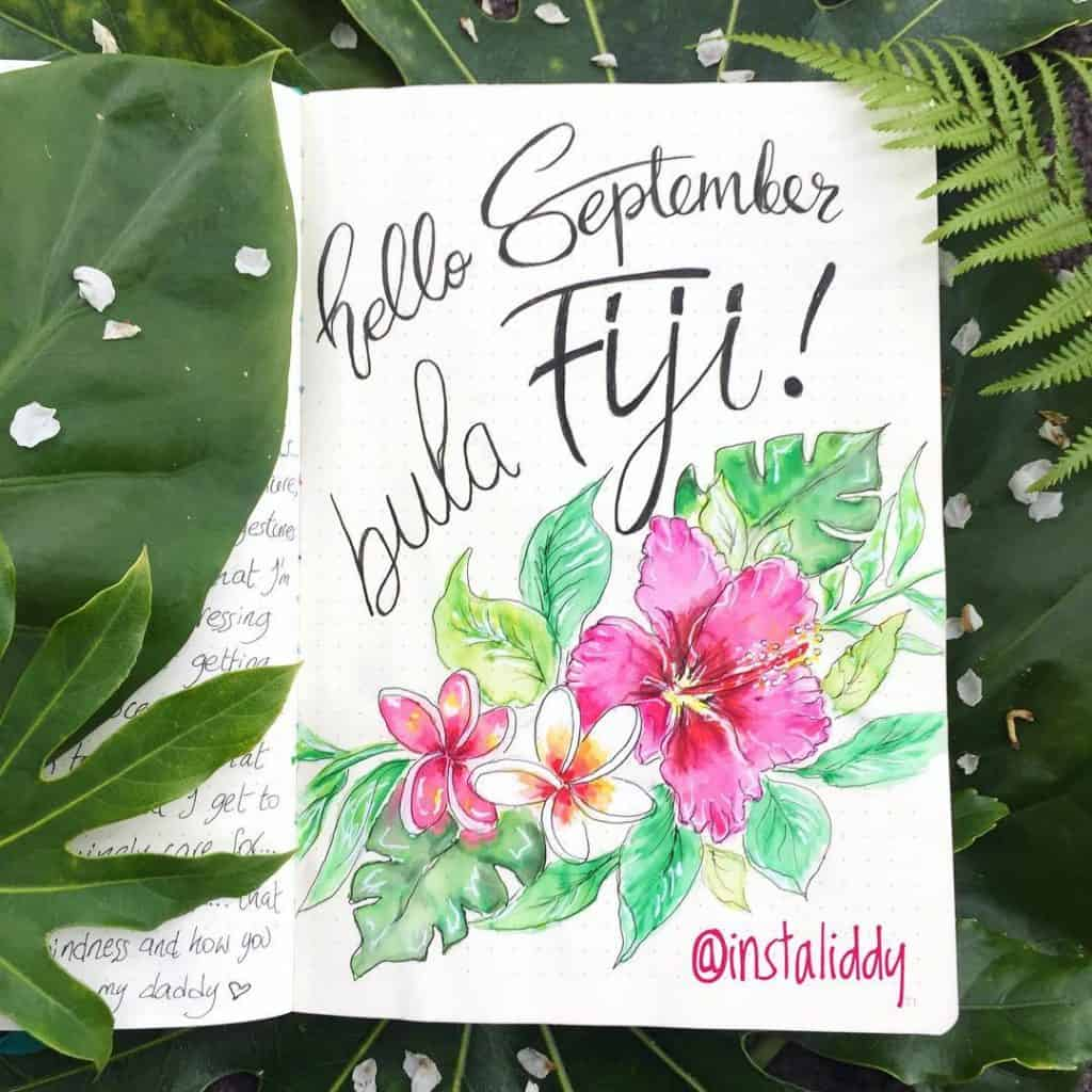 For some fantastic summer inspiration for your bullet journal, check out this article from www.littlemissrose.com #bulletjournal #bujo #summerbujo #inspiration