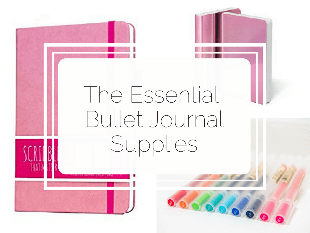 Find out what is absolutely essential when starting a bullet journal. This list will tell you everything you need to buy to start your bujo. #bulletjournal #bujo
