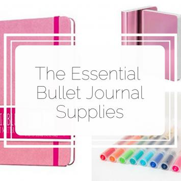 Essential Bullet Journal Supplies