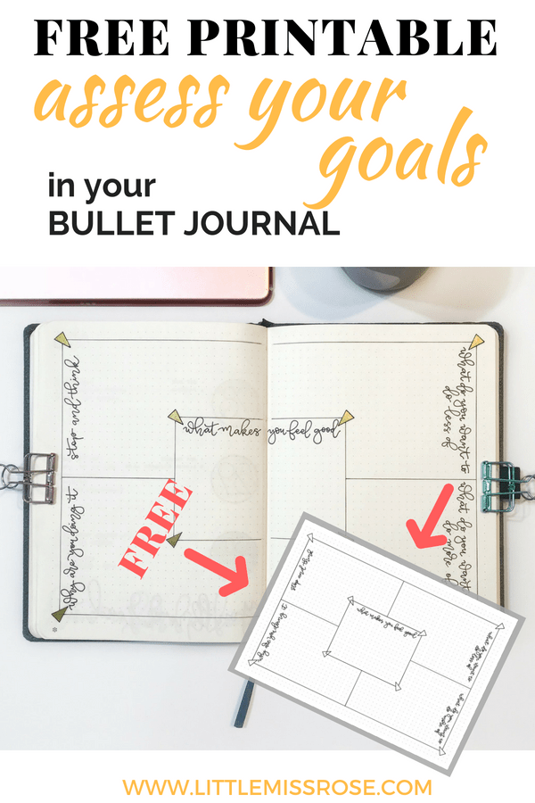 Learn how to reassess your resolutions in the middle of the year using your bullet journal. Set yourself some mid-year resolutions using the free printable in the article! #bulletjournal #bulletjournalinspiration #resolutions #bujo #bulletjournalideas