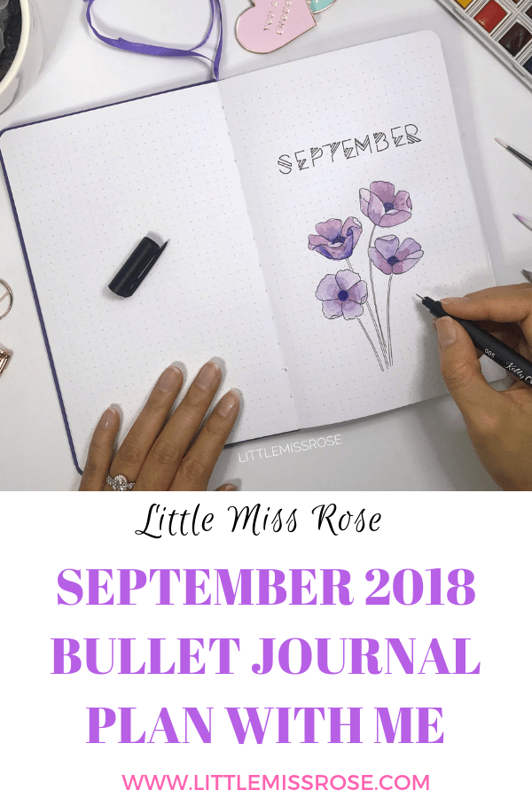 Check out my bullet journal plan with me for September to get inspiration and ideas for your next bullet journal set up