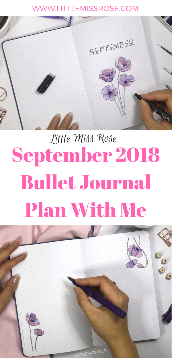 Have a look at my bullet journal plan with me for September for some awesome ideas for your monthly log, weekly spreads and habit trackers in your own bullet journal