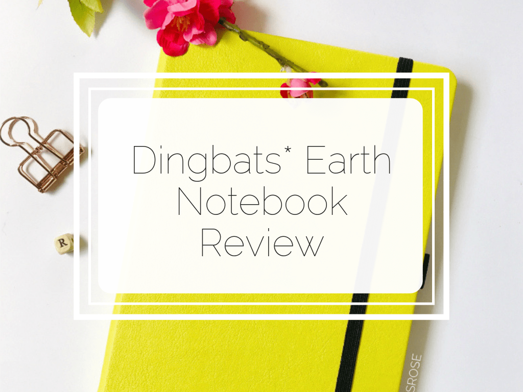 Here's an excellent and informative review on the Dingbats Earth Notebook. Find out all the details and get all the answers you need when deciding if this journal is right for you!
