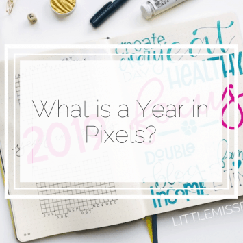 What is a Year In Pixels?