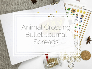 Animal Crossing Spreads for your Bullet Journal
