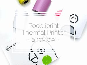 Poooliprint Printer Review