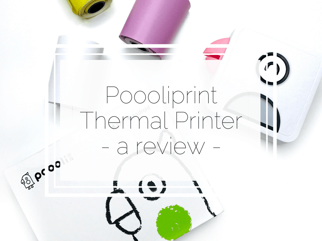 Poooliprint Thermal Printer review